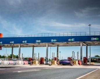 Tyne Tunnel Toll Plaza Canopies